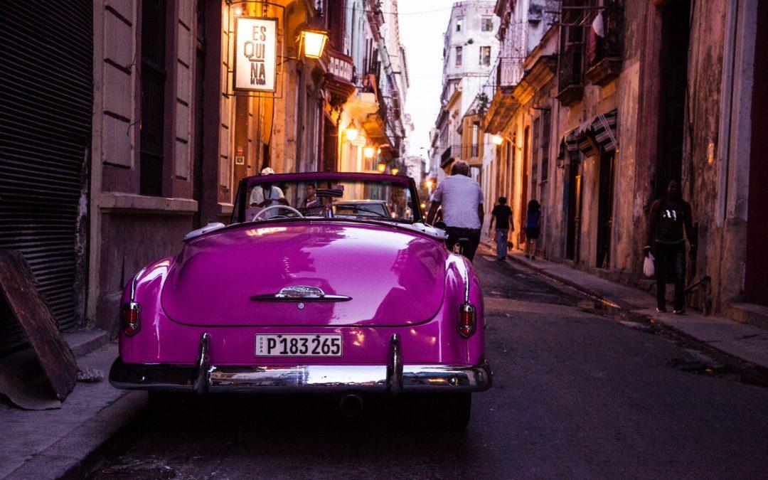Purple Oldtimer