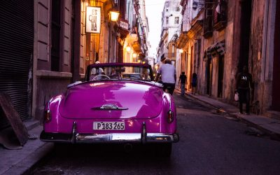 Purple Oldtimer