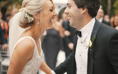 Groom & bride love and happiness joy smile