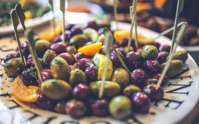 We use fresh olives