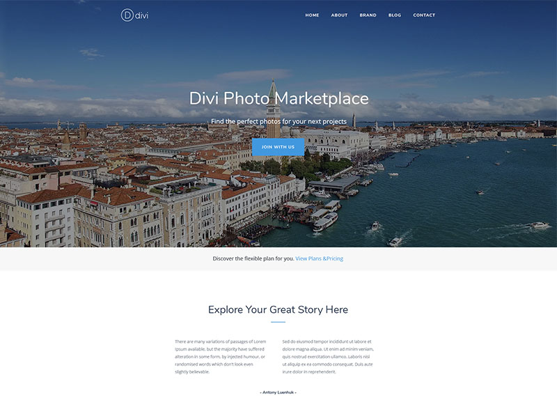 Photography Marketplace