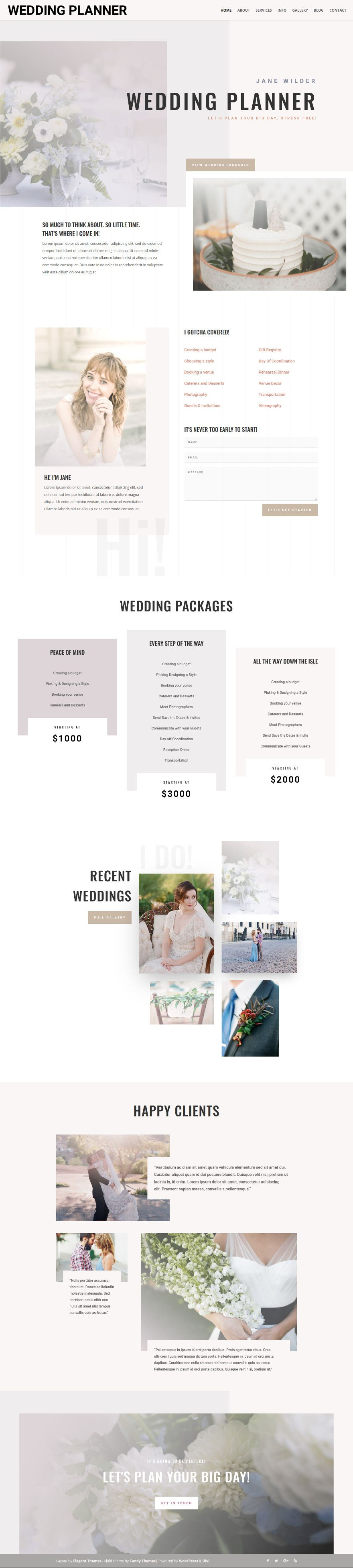 Attractive Theme Wedding Planners Images - Wedding Idea 2018 ...