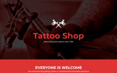 Tattoo my first premium Divi child theme is available now.