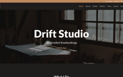 Artist, exclusive layout pack by Elegant Themes turned into a fully functional Divi child theme