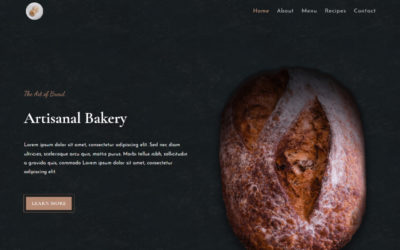 A tasteful child theme to showcase your Bakery Menu & Recipes