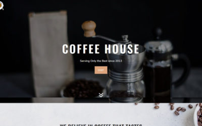 Coffee a dark themed Divi child theme for your coffee house, restaurant or bistro