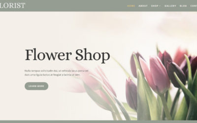 Florist is a beautiful and delightful Divi child theme specially designed for flower shops, gardening stores, etc