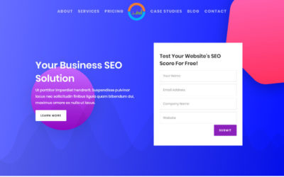 If you are a SEO expert wanting to create a website to let people know about the services you offer SEO Agency Divi child theme might be just what you need