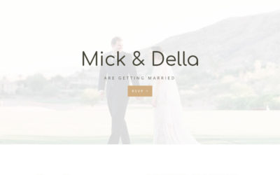 Getting married soon and need a good looking website, take a look at Wedding our newest Divi child theme.