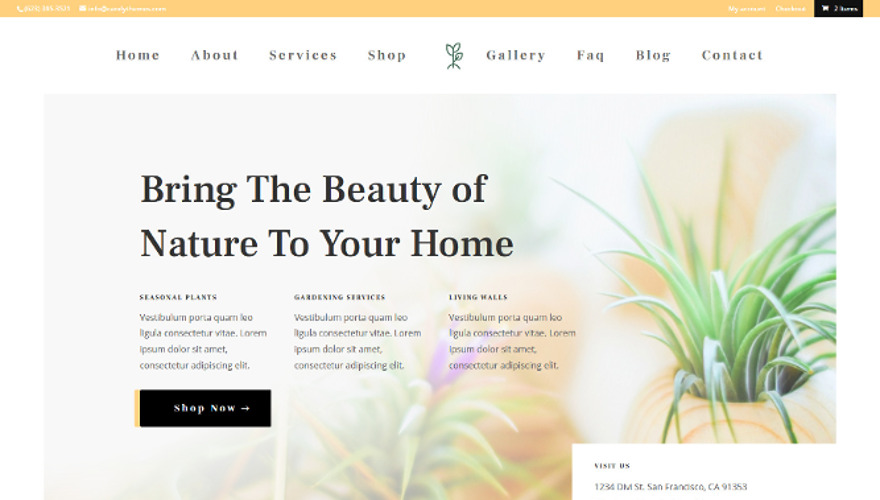 ET-Plant Nursery, a new child theme for your Divi website is available for download now.